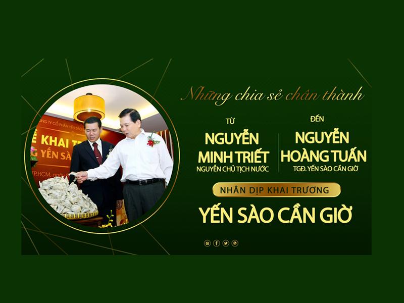 Nguyên chủ tích nước Nguyễn Minh Triết nhắn nhủ