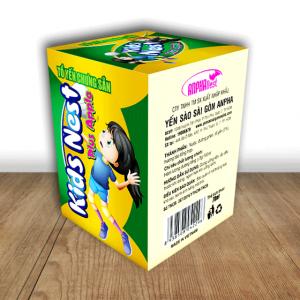 Tổ yến chưng sẵn hiệu Kids Nest Plus - Apple (hũ)
